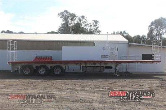 2007 Vawdrey 45FT FLAT TOP SEMI TRAILER Semi Trailer Sales  - Trailers for Sale