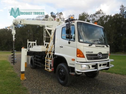2009 Hino GT 1322 4x4 Midcoast Trucks - Trucks for Sale