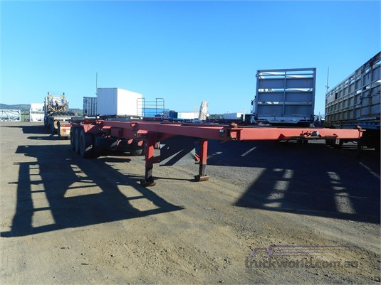 1989 Krueger Skeletal Trailer Trailers for Sale