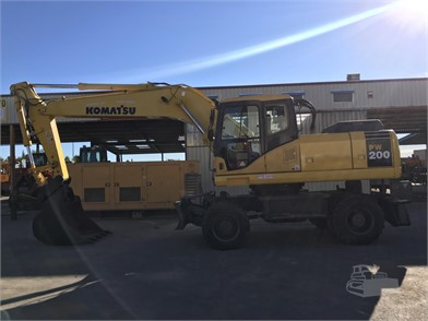 KOMATSU PW200 For Sale - 1 Listings | MachineryTrader com