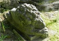 Second lion