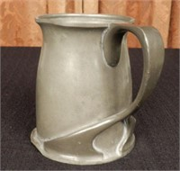 LIBERTY & CO. English pewter ale tankard, marked