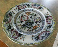 Extensive English Ironstone dinner service with serving pieces, marked Formosa