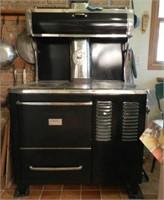Black Margin wood cook stove