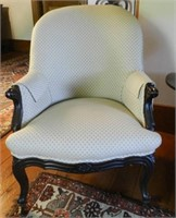 Victorian gentleman's chair