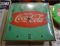 1950's Drink Coca Cola Clock