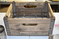 Early Biltmore Dairy Wooden Crate