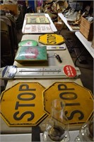 Large Collection Advertising Signs