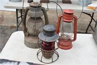Old Barn & Railroad Lanterns