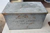 Hunter Jersey Farms Milk Box