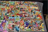 Flash, Superman, Batman, comics
