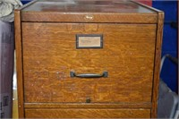 Large 5ft Tall Oak File Cabinet