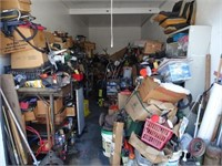 STORAGE AUCTION - MECHANIC'S 40 YR. ASSEMBLY - ONLINE ONLY