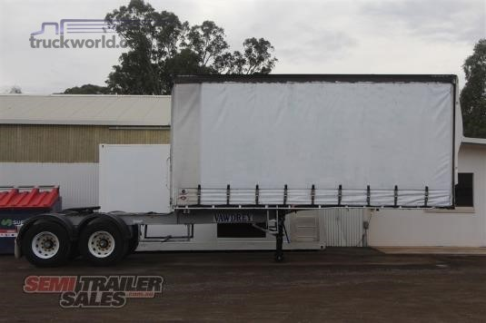 2003 Vawdrey 10 Pallet Curtainsider A Trailer With Mezz - Trailers for Sale
