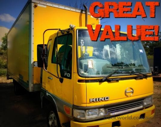 2001 Hino FD Southern Star Truck Centre Pty Ltd - Trucks for Sale