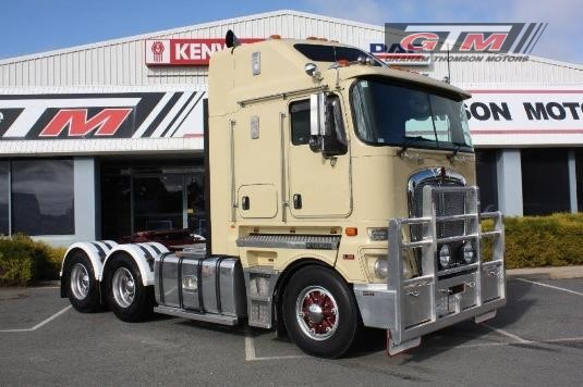 2012 Kenworth K200 Aerodyne Graham Thomson Motors  - Trucks for Sale