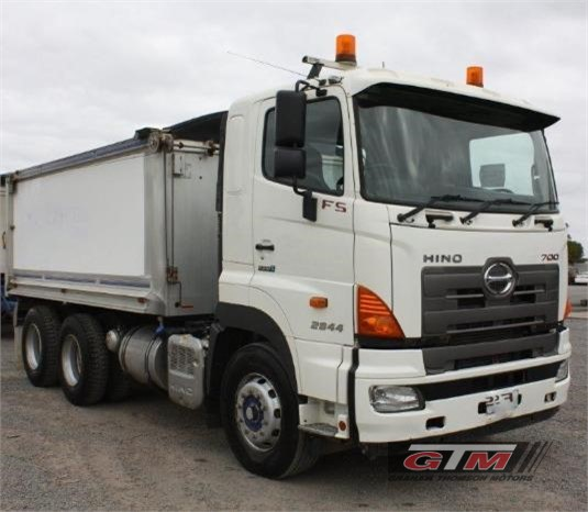 2012 Hino 700 Series 2844 FS Graham Thomson Motors  - Trucks for Sale