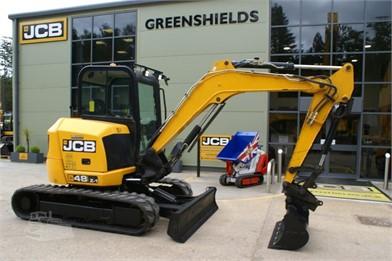 JCB Mini (Up To 12,000 Lbs) Excavators For Sale - 331