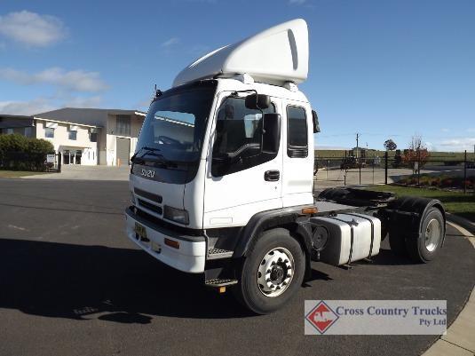2004 Isuzu GVD Cross Country Trucks Pty Ltd - Trucks for Sale
