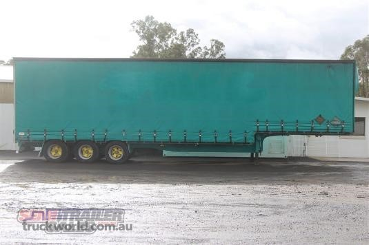 1993 Haulmark 22 PALLET DROP DECK CURTAINSIDER SEMI TRAILER - Trailers for Sale