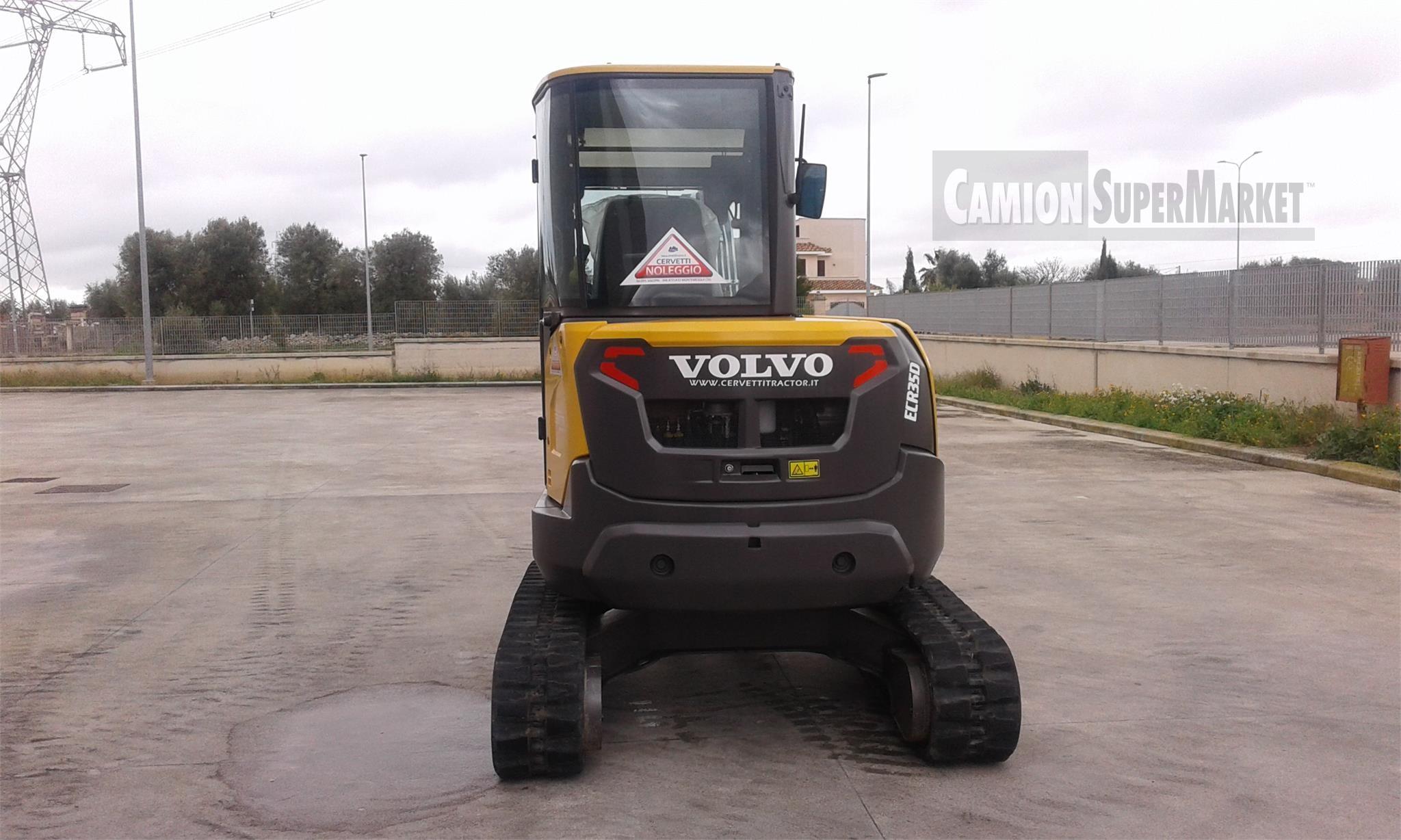 Volvo ECR35D Usato 2017