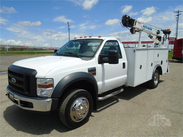 2008 FORD F550 XL SD For Sale In Lancaster, Ohio