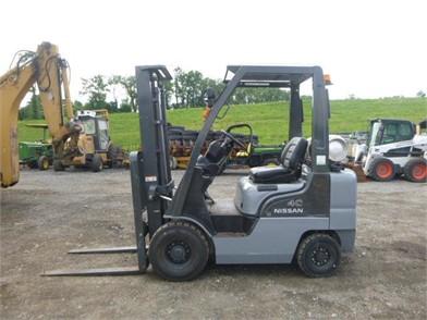 Nissan Mp1f1a20lv Forklift Other Auktionsergebnisse - 1 ... on