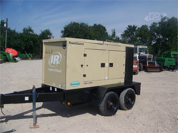 INGERSOLL-RAND Generators Auction Results - 232 Listings