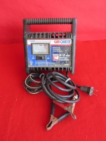 Car Quest 6 2 Amp 12 Volt Battery Charger Bighorn Auction Co