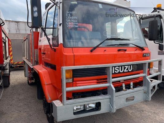 1991 Isuzu FSS 500 4x4 Trucks for Sale
