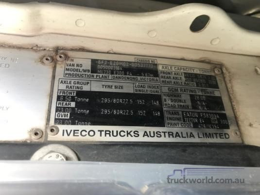 2010 Iveco EUROCARGO 230E28 Adelaide Quality Trucks - Trucks for Sale