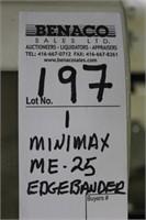 1, SCM MINIMAX ME-25 AUTOMATIC EDGEBANDER | BENACO SALES LTD