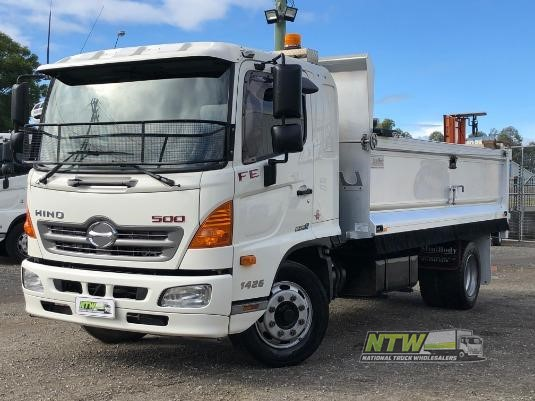 2016 Hino 500 Series 1426 FE National Truck Wholesalers Pty Ltd - Trucks for Sale