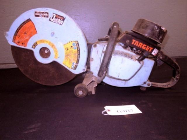 G-037 Target Super Quickie Hot Saw | Pickett Auction Service
