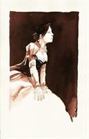 Meddour. Illustration originale Blanche-Neige