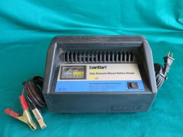 Deep Cycle Marine Battery Charger >> Everstart 12v Marine Deep Cycle Battery Charger Bighorn