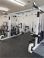 Multi-Station Jungle Gym System