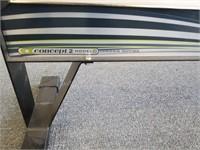 Black Concept 2 Model D Rowing Machine