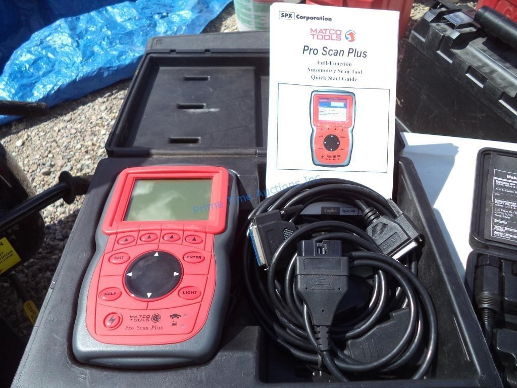 Matco Tools Pro Scan Plus | Prime Time Auctions