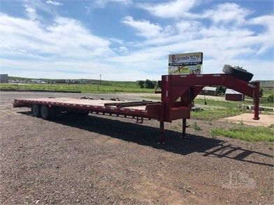 GOOSENECK Flatbed Trailers Auction Results - 45 Listings