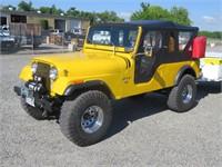 (DMV) 1973 Jeep CJ-6