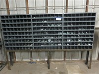 Assorted Nuts and Bolts Bins