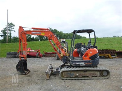 KUBOTA U45-3 MIDI EXCAVATOR Other Auction Results - 1