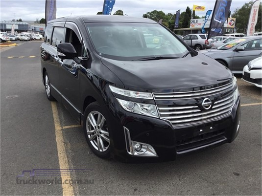 2011 Nissan Elgrand Light Commercial for Sale