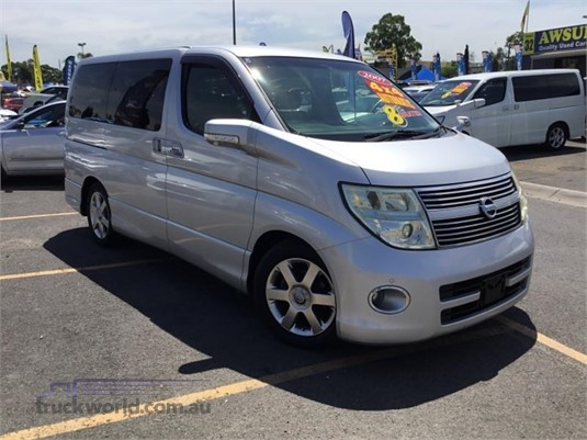 2007 Nissan Elgrand Light Commercial for Sale