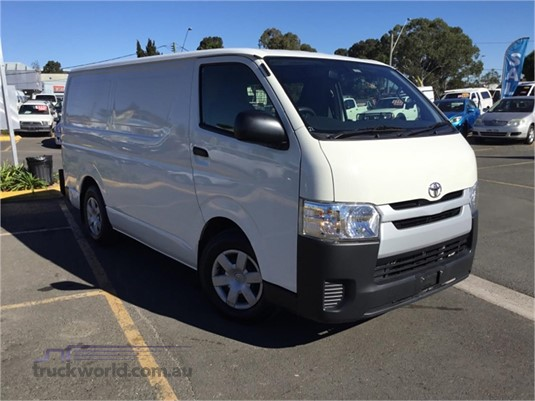 2016 Toyota Hiace Light Commercial for Sale
