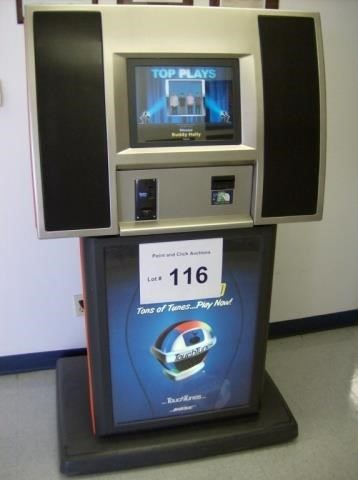 Touchtunes Genesis Jukebox | Point and Click Auctions Inc
