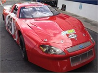 NASCAR Late Model Asphalt Race Car #36