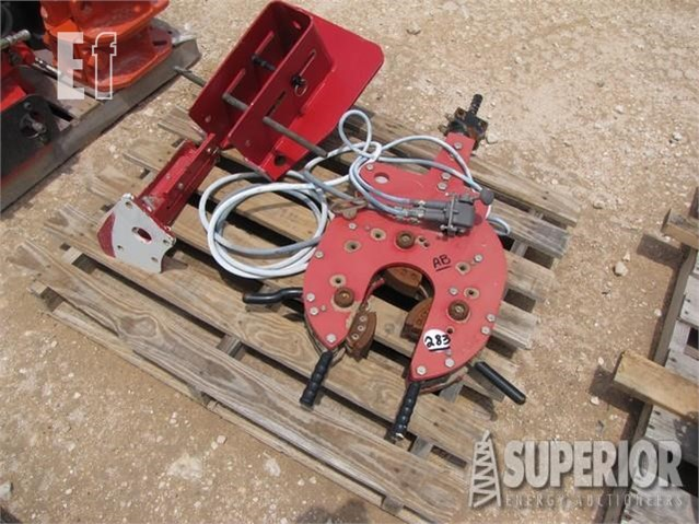 Lot # 283 - AIR BACKUP F/OIL COUNTRY TUBING TONGS (NEW) For Sale In Tulsa,  Oklahoma