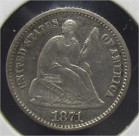 4/4 Thru 4/9 - Online Coins & Currency Auction